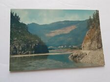 Fraser River BC British Columbia Canada Postcard Vintage Unposted