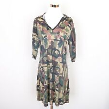D Ceptions By Disguise Green Camo Costume Dress Women's Long Sleeve