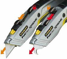 STANLEY Messer FatMax Xtreme 2-in-1 einziehbare Klinge Teppichmesser Messer