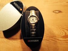 New  Reloj Watch Montre Sra. CITIZEN Eco Driver - Steel Acero  -