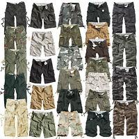 DELTA RAW Herren Cargo Shorts kurze Hose military camouflage army S-7XL