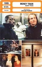 FICHE CINEMA : MONEY TRAIN - Snipes,Harrelson,Lopez,Ruben 1995