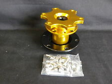STEERING HUB QUICK RELEASE BLACK AND GOLD