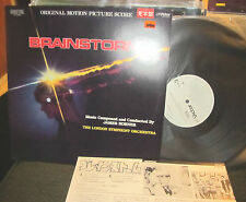BRAINSTORM JAMES HORNER SOUNDTRACK NM DIGITAL JAPAN '83 christopher walken OST!!