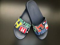 TOMMY HILFIGER Men's TM ELLIE-C Logo Slide Sandal Slipper Flip Flop Size 12/13