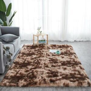 Fluffy Rugs Plush Rug Shaggy Large Rugs Faux Fur Living Room Carpet Non Slip Mat