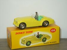 Triumph TR2 Sports - Dinky Toys Atlas 105 in Box *42159