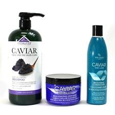 Excelsior Caviar Therapeutic Hair Care Shampoo, Conditioner & Hair Mask 3-PC SET