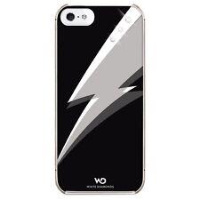 White Diamonds Cover für Apple iPhone 5 / 5s, Blitz, schwarz, Swarovski 118846