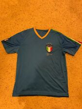 Italia Italy Gol National Soccer Team Azzurri Blue Jersey Adult Size Xl
