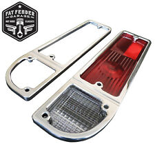 1968 1969 1970 1971 1972 Chevy C10 Polished Aluminum Tail Light Bezels Billet
