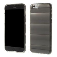housse etui gel silicone per Iphone 6 4.7 gris verre fumé transparent tpu