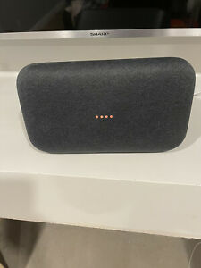 google home max speaker, black, barely used, great condition,