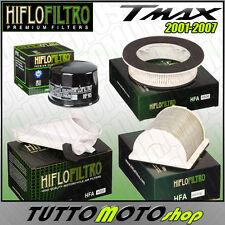 KIT 3 FILTRI ARIA + FILTRO OLIO HIFLO YAMAHA T-MAX 500 2001-2007