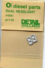 Detail Assoc. O scale 5051 Dual Headlight- NOS