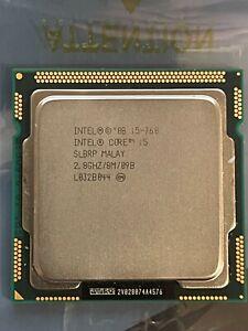 Intel Core i5 760 2.8GHz Quad Core LGA1156 95W CPU Working