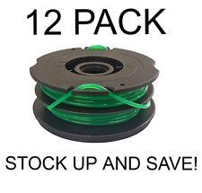 Dual Line  Trimmer Spool for Black & Decker DF-080-BKP 12-Pack