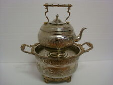 Antique Moroccan Silver Plated Hand Washing Sink Basin #2