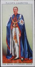 No.28 THE ROYAL VICTORIAN ORDER Coronation Series Ceremonial Dress, Player 1937