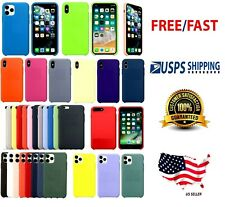 Shockproof Silicone Case Cover for Apple iPhone 6 6s 7 8 X XR XS MAX 11 PRO MAX