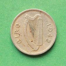 1942 Ireland Threepence SNo40100