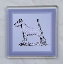 More details for irish terrier coaster by curiosity crafts 1 or set of 4