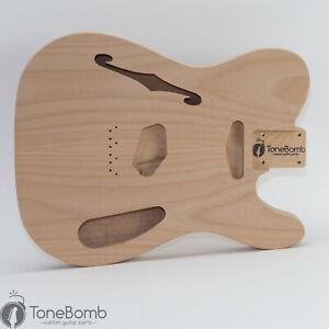 Alder ToneBomb RuffTone '69 Tummy Cut Thinline Tele Telecaster Guitar Body