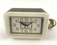 Vintage TIMEX Electric Plastic Alarm Clock ~ Lighted Dial ~ USA~ Model 7418-3