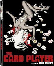 Dario Argento THE CARD PLAYER Blu-Ray *Limited Ed GIALLO Slasher *RARE SLIPCOVER