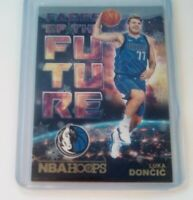 Luka Doncic Winter SP RC Dallas Mavericks Faces of the Future Hoops Rookie Holo