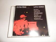 Cd   Elton John  – Love Songs