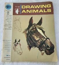 The Art of Drawing Animals 1965 Grumbacher Library Vintage