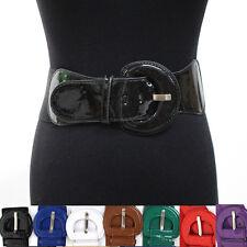 Women Fashion Classy Wide Cinch Elastic Stretch High Waist Hip Belt S M L XL