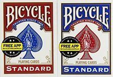 Bicycle US Playing Card 60808 lote de Barajas inglesas (2 X 54 cartas)