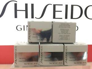 SHISEIDO Men Total Revitalizer Age-Defense Cream Size: 5 ml x 5 (25 ml)