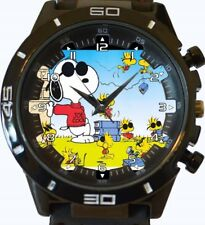 Snoopy Peanuts New Gt Series Sports Unisex Gift Wrist Watch