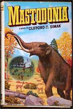 MASTODONIA ~ CLIFFORD D. SIMAK ~ BOOK CLUB EDITION