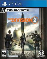 Tom Clancy's The Division 2 Playstation 4 (PS4) - Brand New - Free Shipping