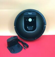 iRobot Roomba 980 Black Vacuum Cleaning Robot with CHARGER #PoiDY4