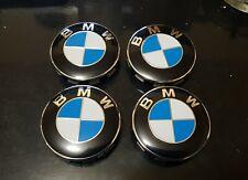 4x Cache moyeu centre de roue logo BMW 68mm