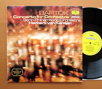 DG 2535 202 Bartok Concerto For Orchestra Karajan Berlin Philharmonic NEAR MINT