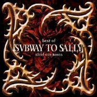 """SUBWAY TO SALLY - BEST OF """"KLEID AUS ROSEN"""" CD NEU"""
