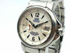 ORIS Watch 7496 Men's  Automatic St.Steel Chronometer Small Seconds Date   T3867