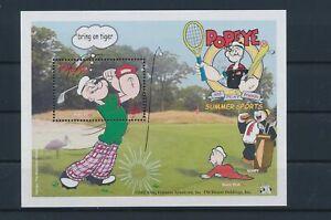LO41175 Palau Popeye comics cartoons good sheet MNH