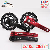 IXF Double 170mm 104/64bcd 26/38t 10s Crankset MTB Bike Sprocket Crank Chainring