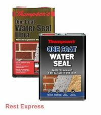 Thompsons One Coat WATER SEAL - 5 Litre (5L) Ultra Brickwork & Stone Protection