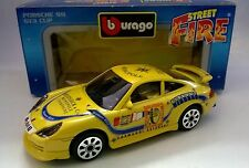 BURAGO STREET FIRE 1:43 DIE CAST PORSCHE 911 GT3 CUP GIALLO 41860 MADE IN ITALY
