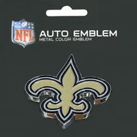 New Orleans Saints Heavy Duty Metal 3-D Color Auto Emblem