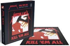 Metallica Kill 'Em All 500 piece jigsaw puzzle 410mm x 410mm (ze)