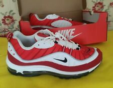 Nike Air max 98 SE Gym Red  White Genuine Mens Trainers UK10 EU45